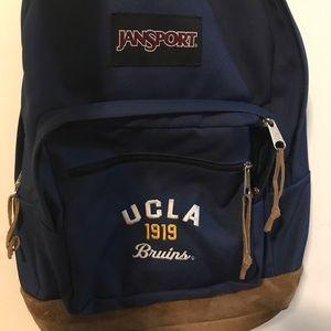 UCLA JanSport Backpack (suede bottom)